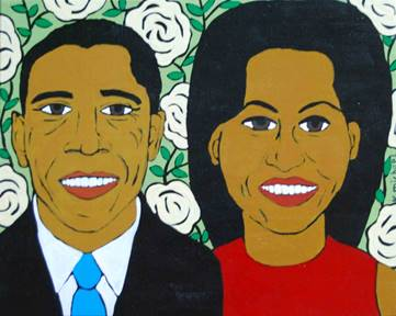 barack and michelle obama quilt for web
